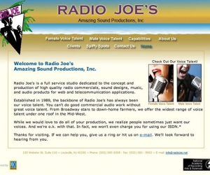 Radio Joe's Amazing Sound Productions, Inc